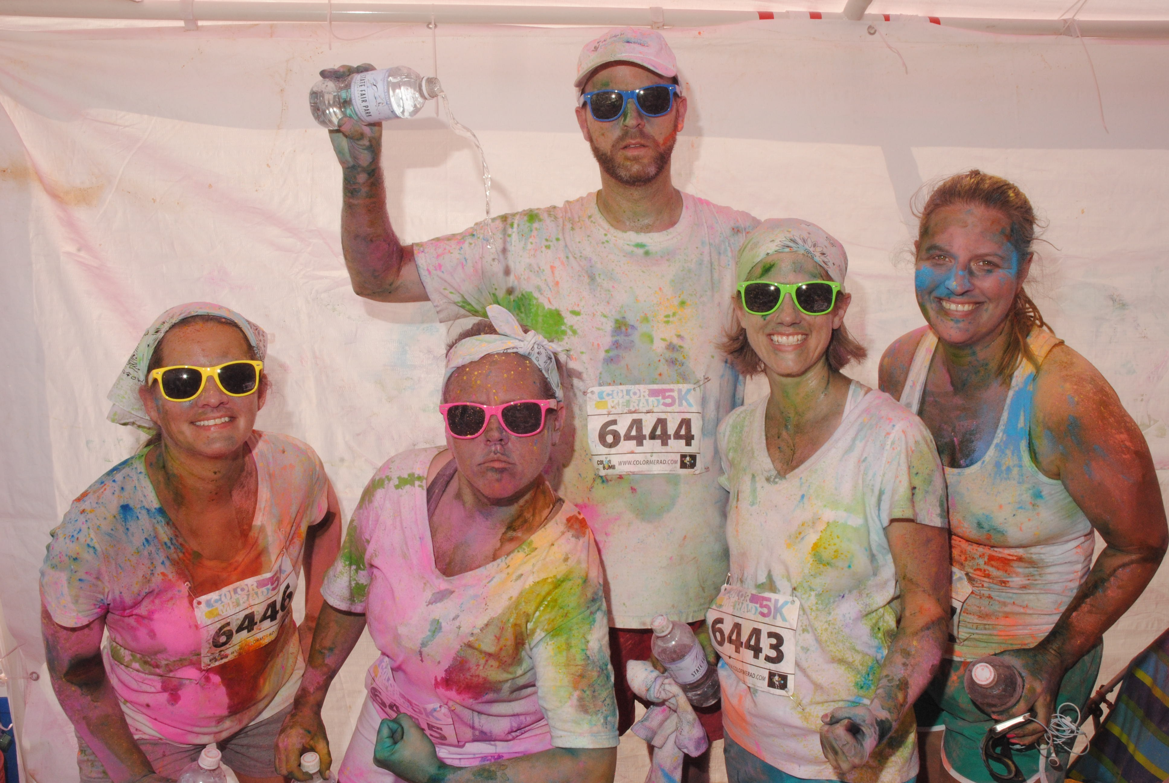 Color Me Rad post-race pic