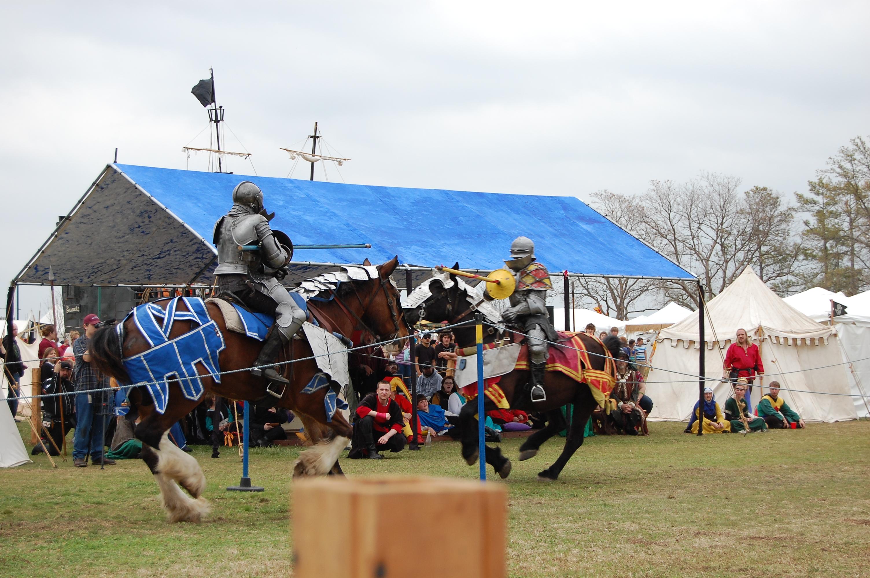 Medieval Fair Jousting