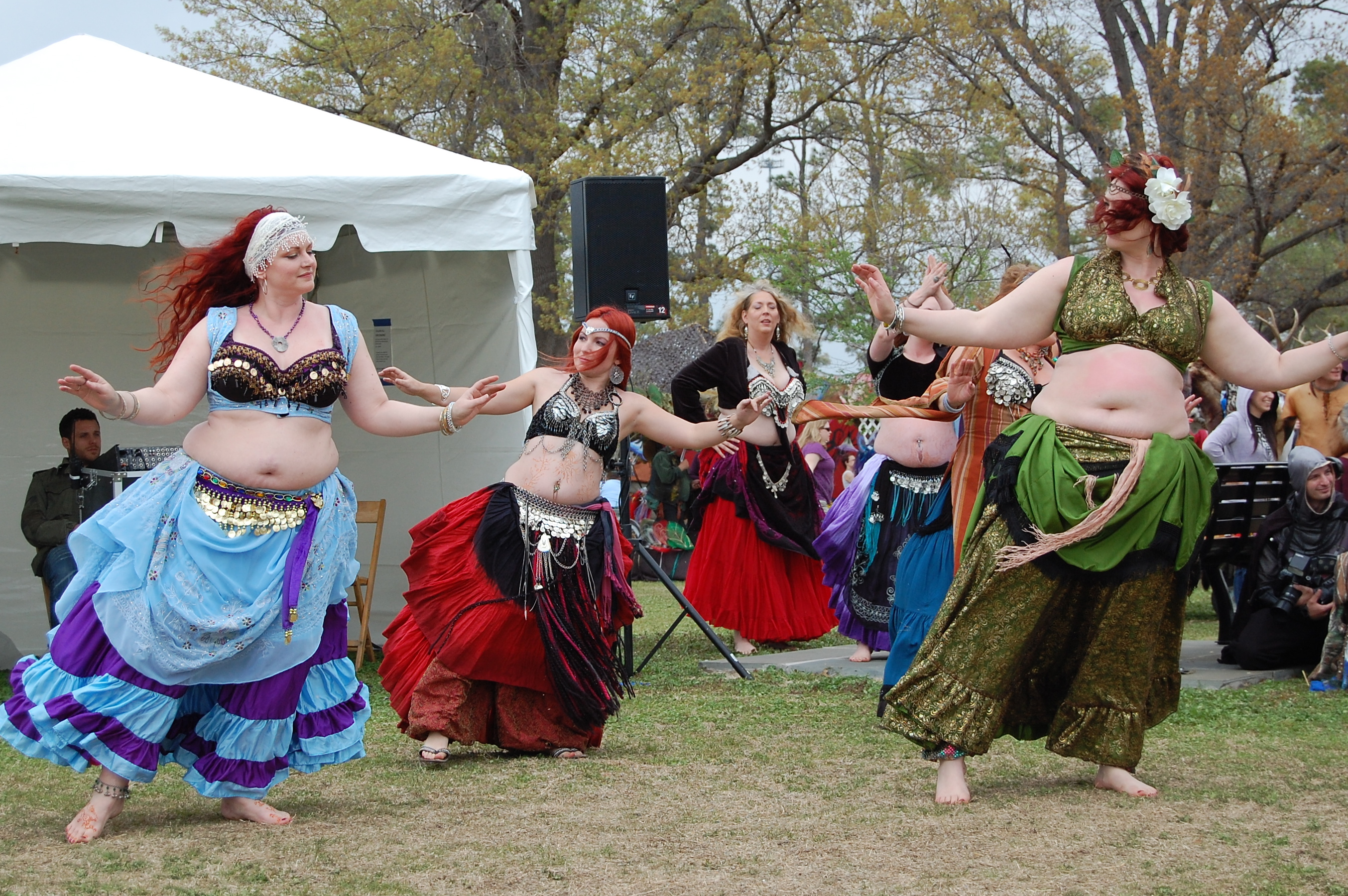Renaissance belly dancers