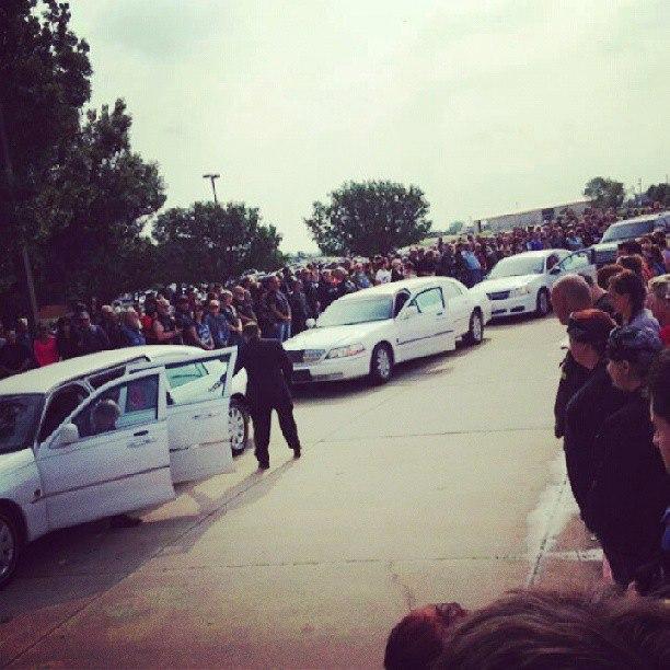 tornado victems funeral