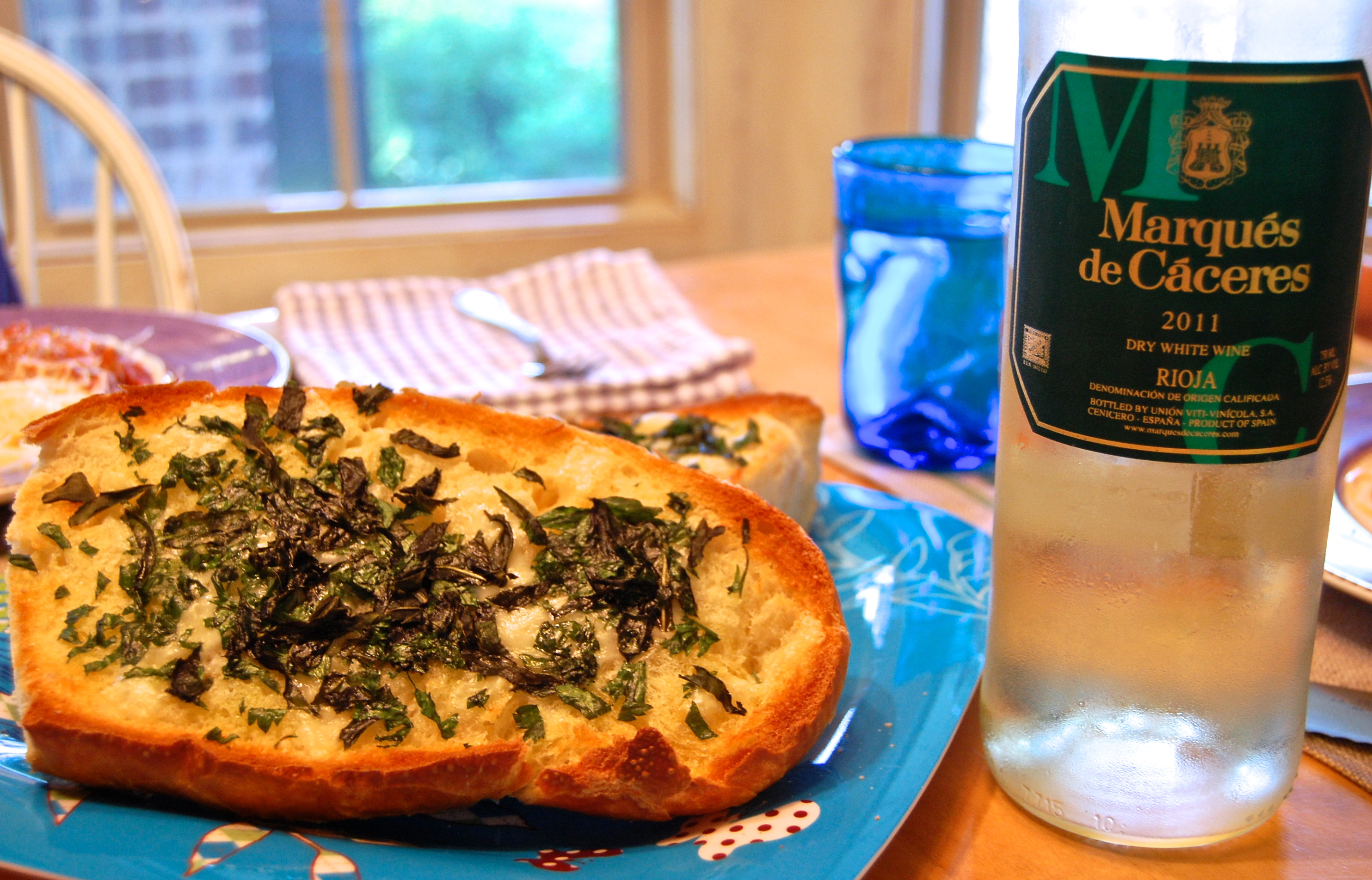 herb french bread